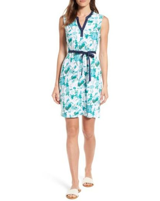 Tommy Bahama | Blue Naxos Blooms Short Jersey Dress | Lyst
