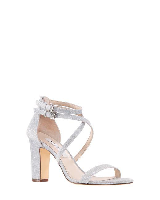 Nina Metallic Shari Strappy Sandal