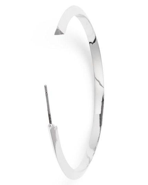 Stella Valle - Metallic Triangle Shaped Hoop Earrings - Lyst