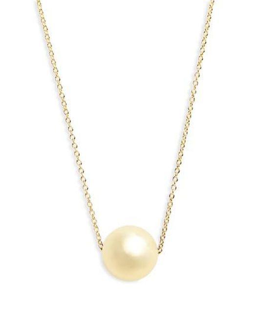 Gorjana | Metallic Newport Pendant Necklace | Lyst