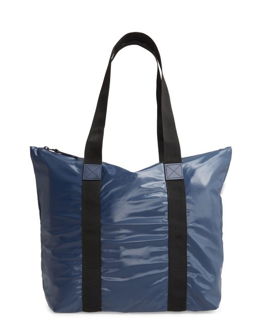Rains Blue Rush Waterproof Tote