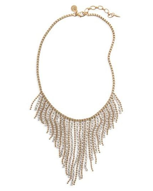 Loren Hope | Metallic Joanna Frontal Necklace | Lyst