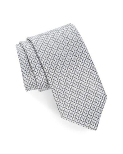 John W. Nordstrom | Metallic John W. Nordstrom 'grayson Mini' Silk Tie for Men | Lyst