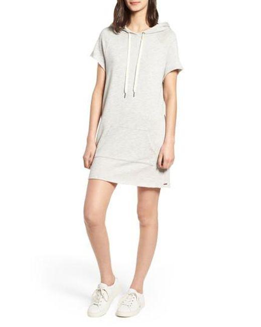 n:PHILANTHROPY - White Spades Hoodie Dress - Lyst