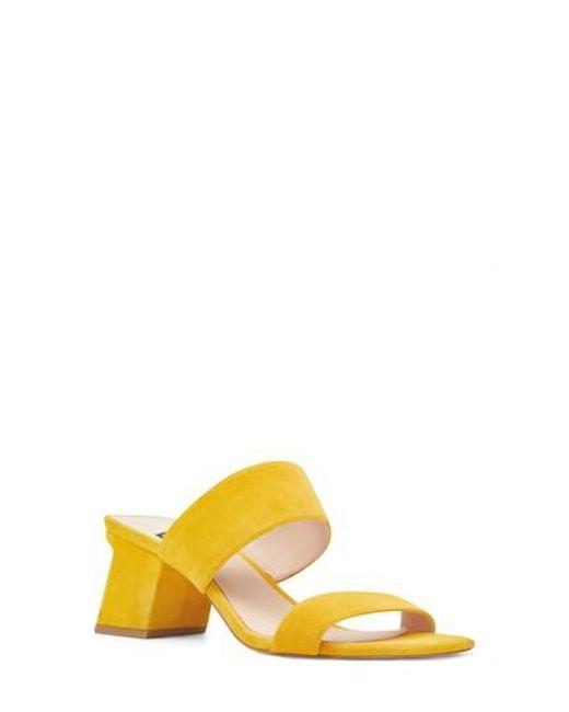 Nine West - Yellow Churen Sandal - Lyst