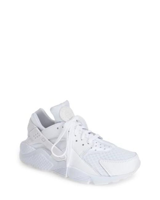 Nike | White 'air Huarache' Sneaker | Lyst