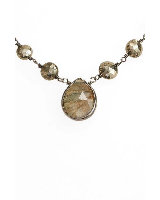 Ela Rae - Metallic Ara Collar Necklace - Lyst
