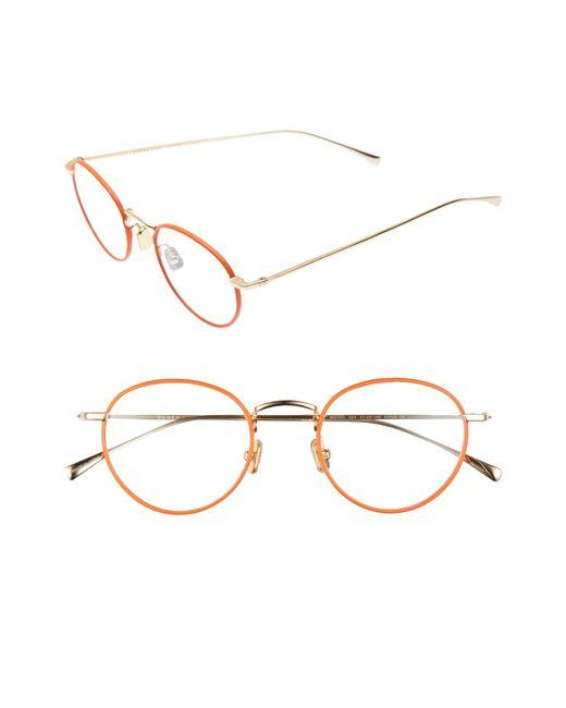 Derek Lam - Orange 47mm Optical Glasses - Lyst