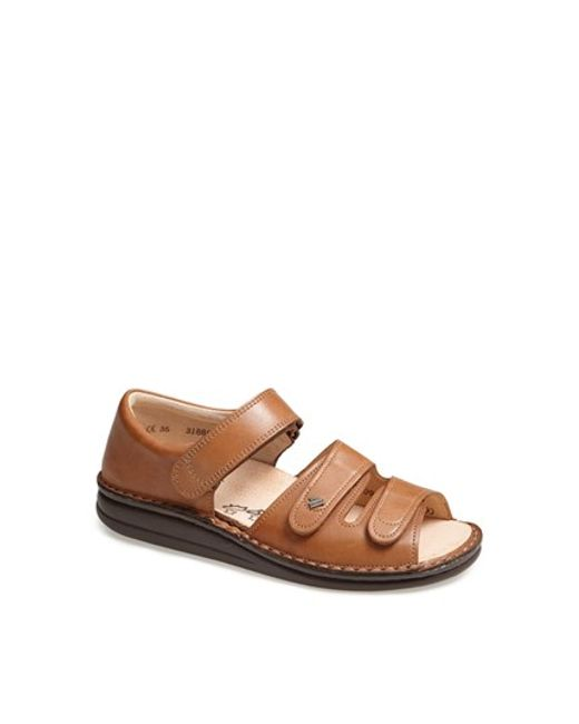 Finn Comfort | Brown 'baltrum 1518' Leather Sandal | Lyst