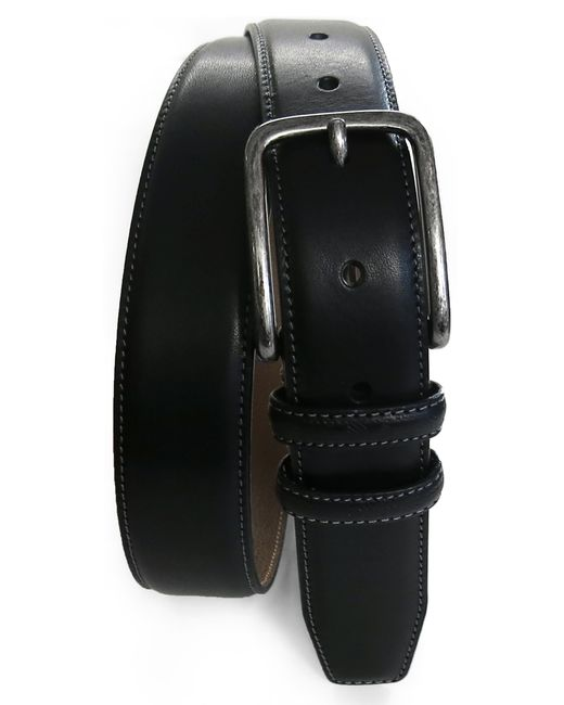Boconi Black Leadon Leather Belt for men