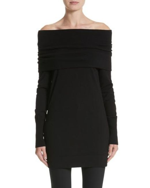 Lafayette 148 New York   Black Convertible Off The Shoulder Sweater   Lyst