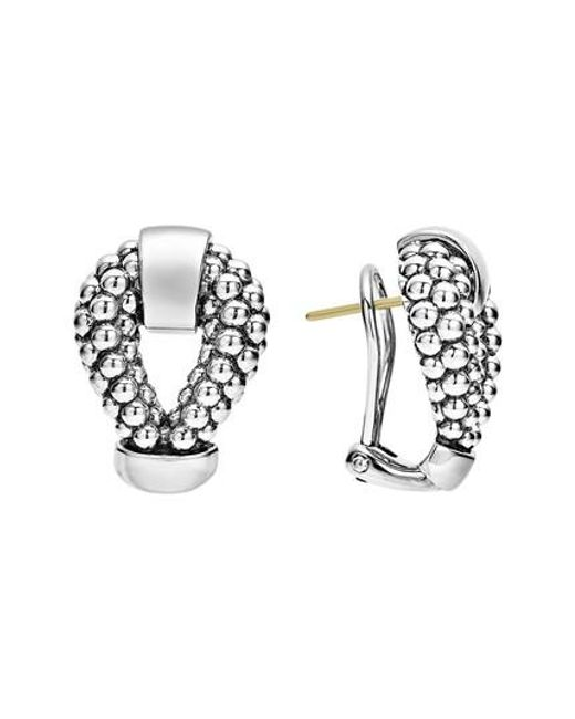 Lagos - Metallic Derby Caviar Stud Earrings - Lyst