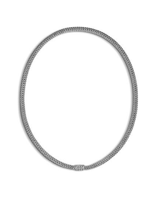 John Hardy | Metallic Extra-small Chain Necklace | Lyst