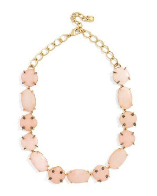 BaubleBar | Pink Arietta Statement Necklace | Lyst