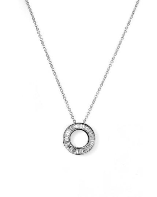 Bony Levy | Metallic 'circle Of Life' Small Diamond Pendant Necklace (nordstrom Exclusive) | Lyst