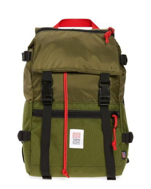 Topo Designs | Green 'rover' Backpack for Men | Lyst