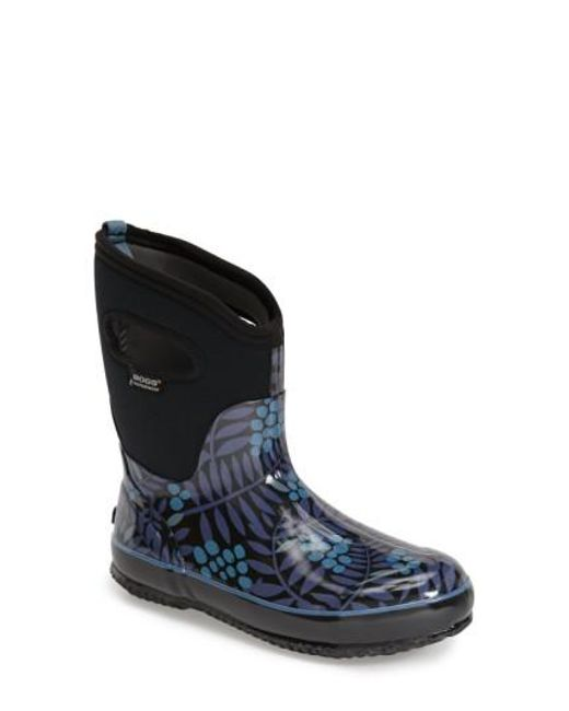 Bogs - Multicolor 'winterberry' Mid High Waterproof Snow Boot With Cutout Handles - Lyst