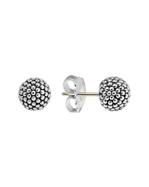 Lagos Metallic 'columbus Circle' Ball Stud Earrings
