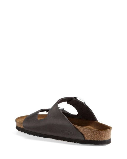 Birkenstock Green Arizona Soft Slide Sandal for men