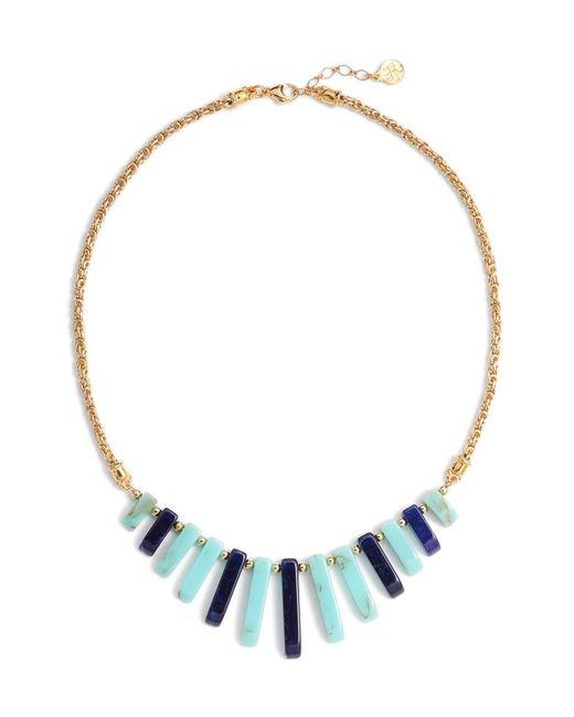 Gas Bijoux - Blue Cascade Bib Necklace - Lyst