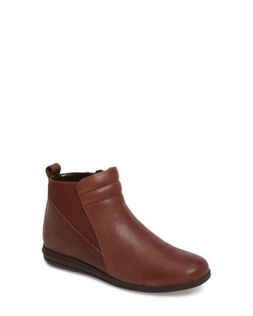 David Tate | Brown Cactus Bootie | Lyst