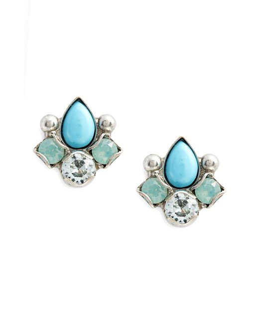 Sorrelli - Blue Buzzworthy Earrings - Lyst