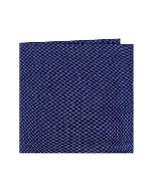 Ted Baker | Blue Solid Cotton Pocket Square for Men | Lyst