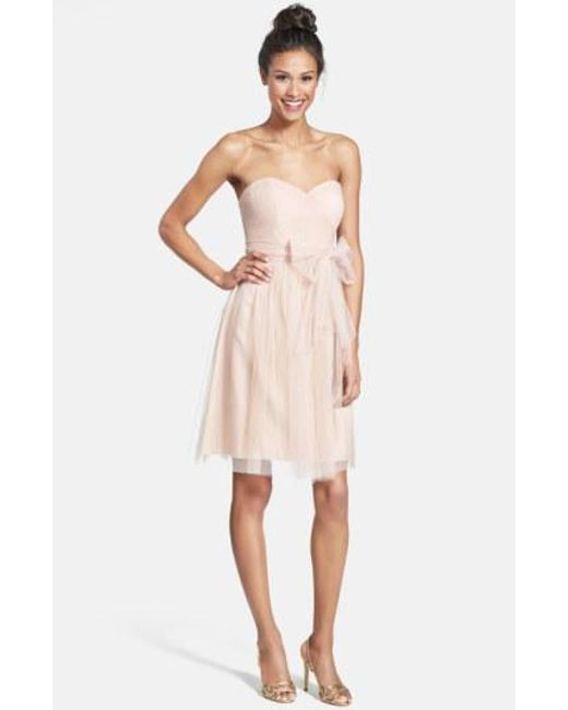 Jenny Yoo - Pink Wren Convertible Tulle Fit & Flare Dress - Lyst
