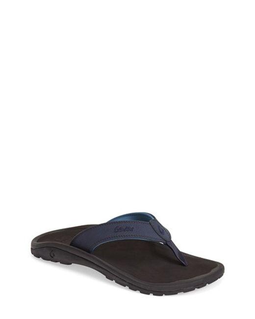 Olukai | Blue 'ohana' Flip Flop for Men | Lyst