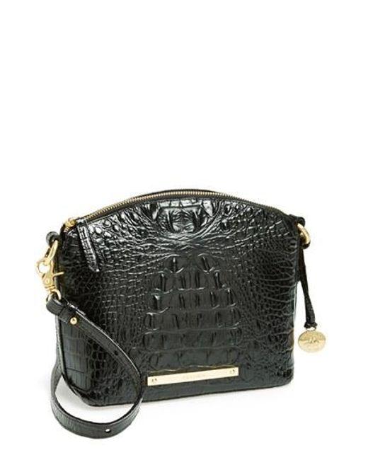 Brahmin | Black 'mini Duxbury' Crossbody Bag | Lyst