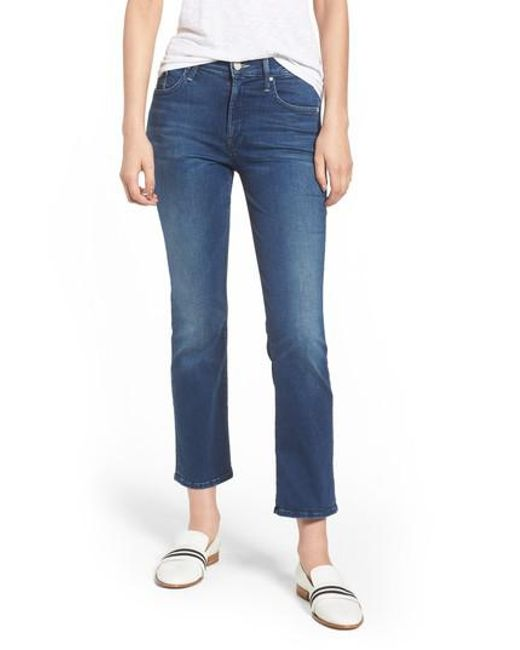 Exclusive Sale Get To Buy cropped bootcut jeans - Blue Mother Cheap Sale Recommend gjKzth