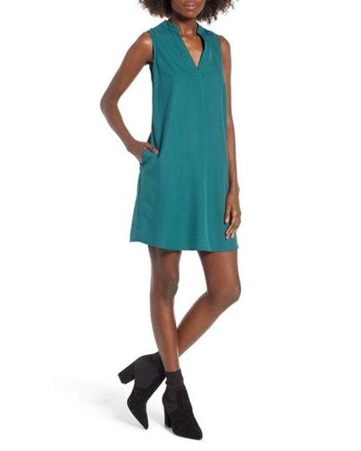Nordstrom - Blue Taylor Shift Dress - Lyst
