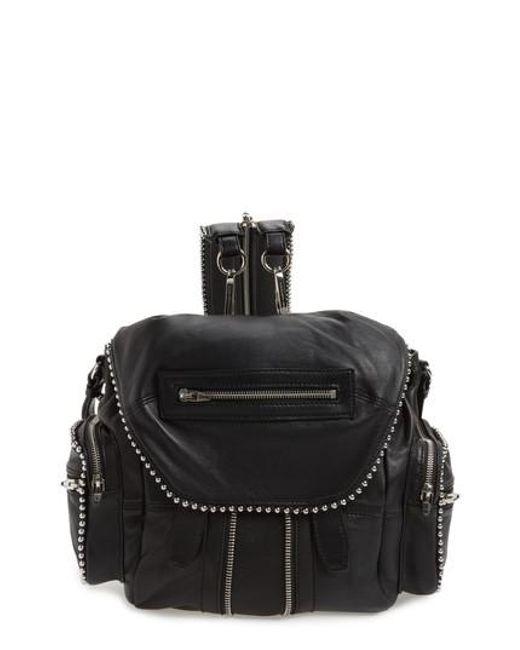 Alexander Wang Handbags, Leopard Printed Suede Micro Marti Shoulder Bag