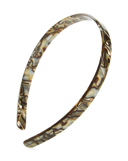 France Luxe - Metallic Skinny Headband - Lyst