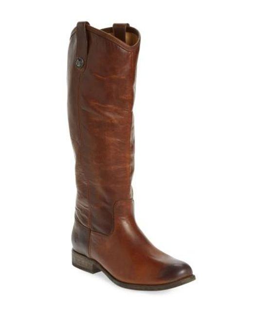 Frye | Gray 'melissa Button' Boot | Lyst
