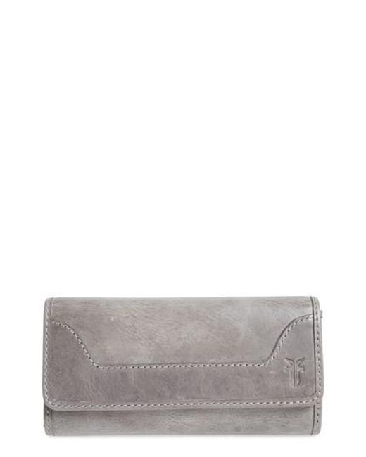 Frye | Brown 'melissa' Continental Wallet | Lyst