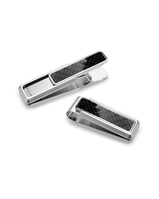 M-clip | Black M-clip 'discovery Line' Stainless Steel Money Clip for Men | Lyst