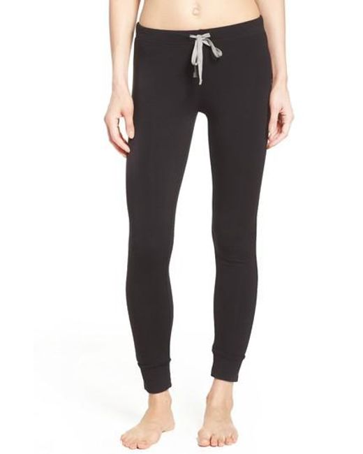 Honeydew Intimates | Black French Terry Lounge Pants | Lyst