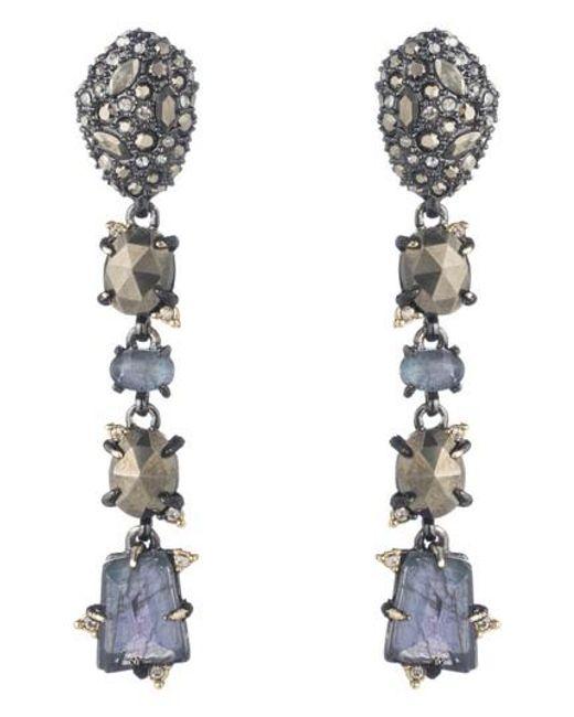 Alexis Bittar | Metallic Elements Linear Earrings | Lyst