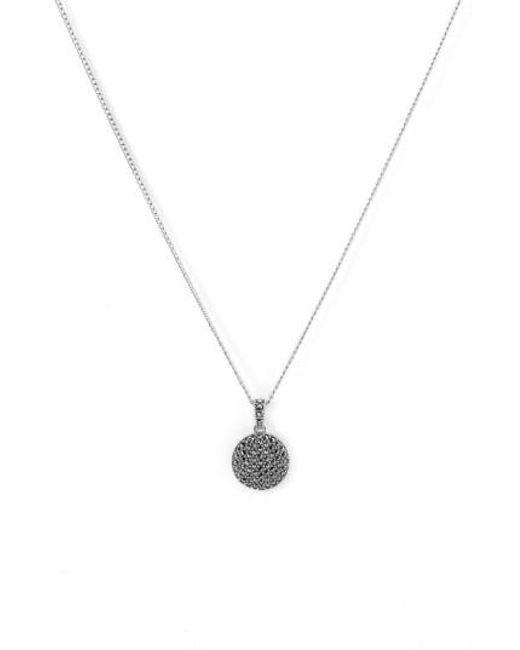 Judith Jack   Metallic Reversible Pave Pendant Necklace   Lyst