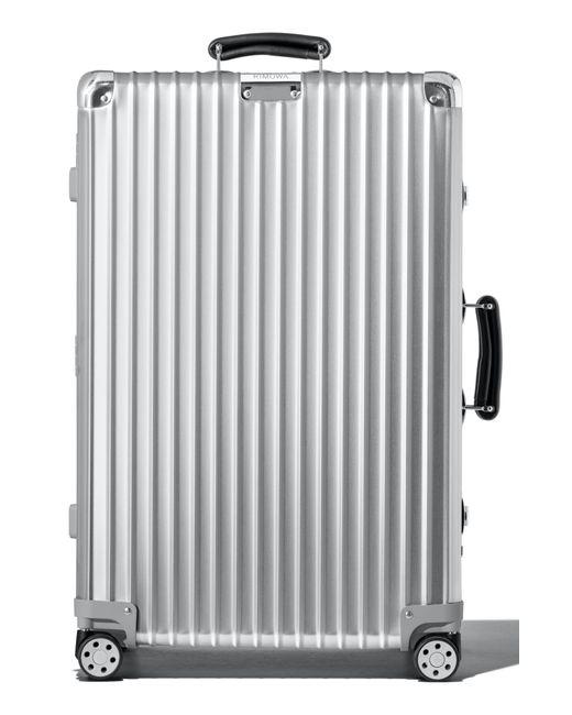 Rimowa Classic Check-in Medium 27-inch Wheeled Suitcase - Metallic for men