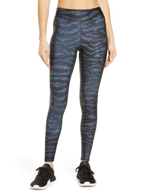 Terez Blue Show Your Stripes Leggings