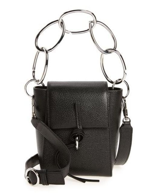 3.1 Phillip Lim | Black Small Leigh Top Handle Leather Satchel | Lyst