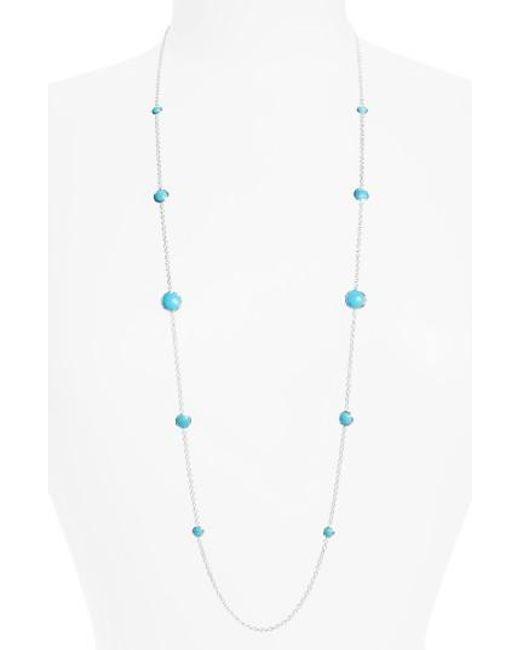 Ippolita | Blue 'rock Candy - Lollipop' Long Necklace | Lyst