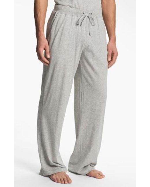Daniel Buchler | Gray Peruvian Pima Lightweight Cotton Lounge Pants for Men | Lyst