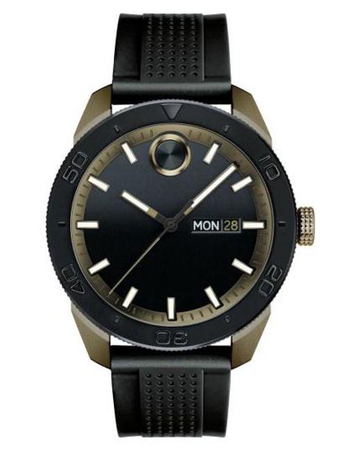 Movado | Black Bold Sport Silicone Strap Watch for Men | Lyst
