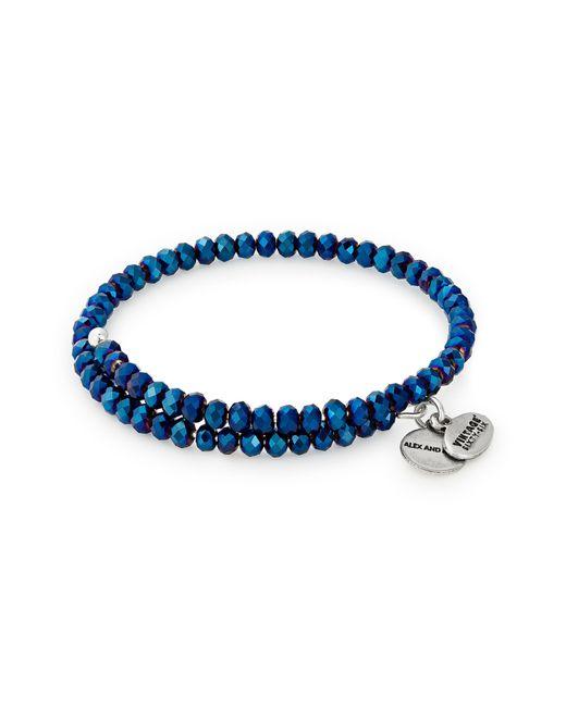 ALEX AND ANI Metallic Brilliance Deep Space Wrap Bracelet