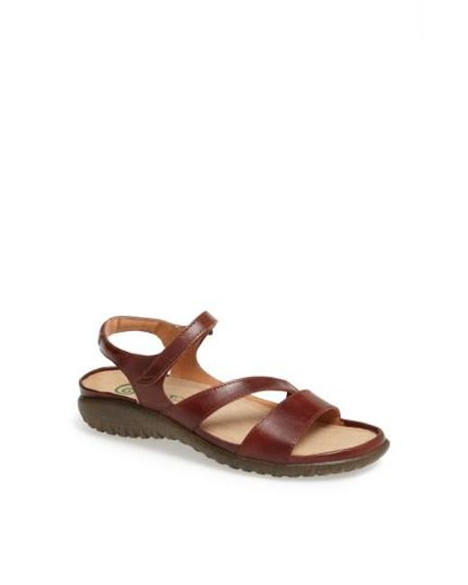 Naot | Brown 'etera' Sandal | Lyst