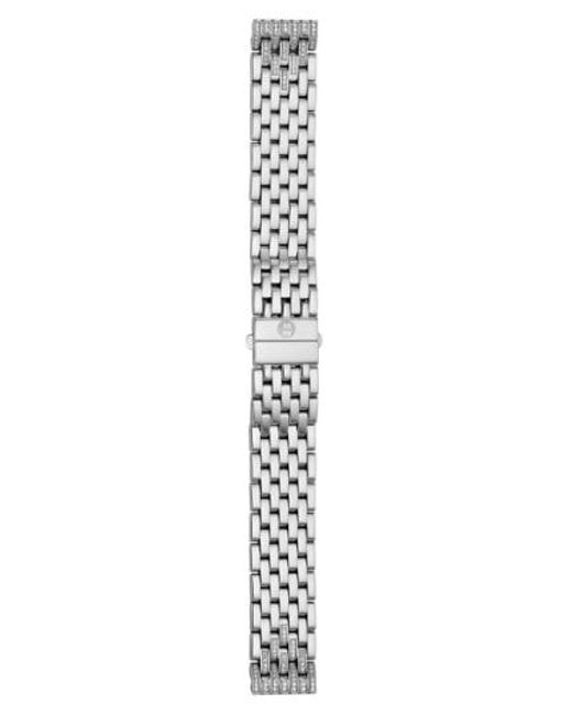 Michele - Metallic Deco 16 16mm Diamond Bracelet Watchband - Lyst