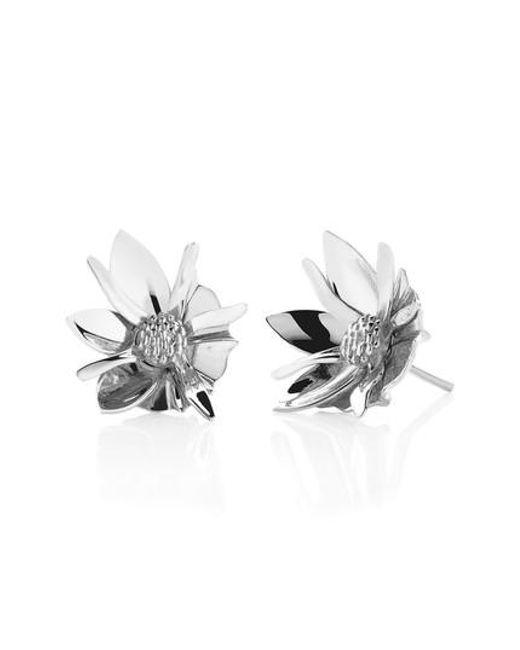 Meadowlark | Metallic Small Wildflower Stud Earrings | Lyst